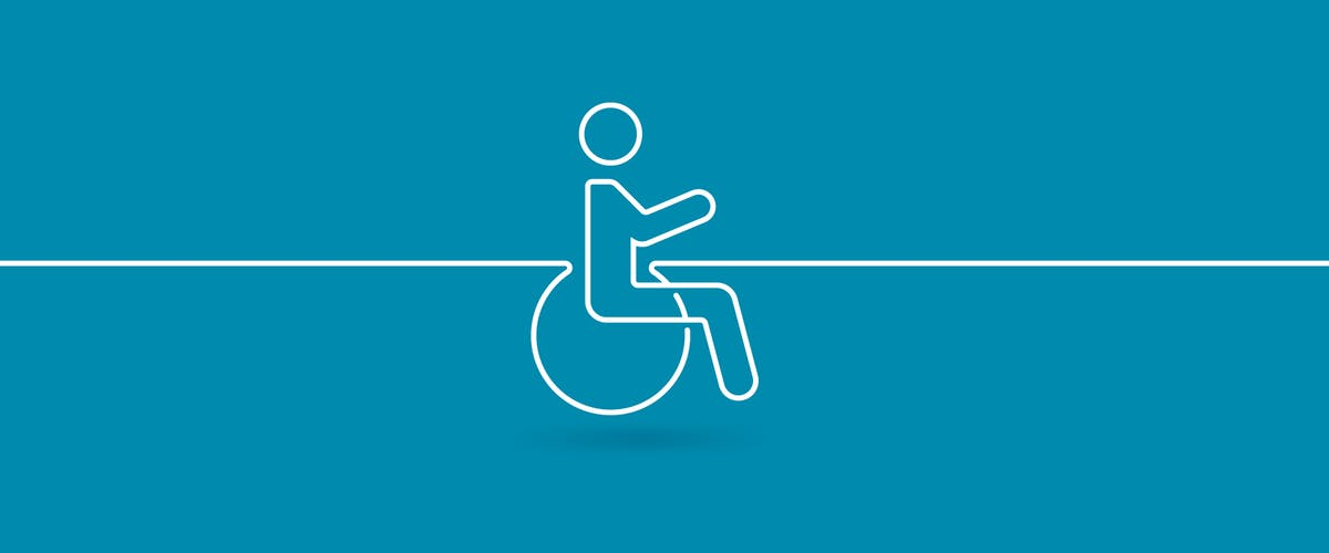illustration of handicap symbol