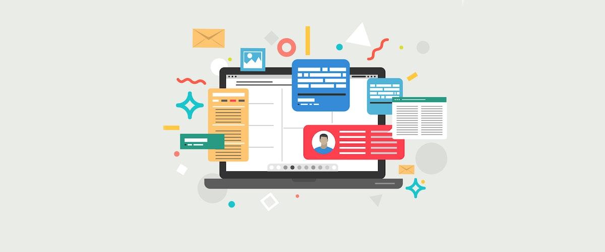 Marketing-themed digital art